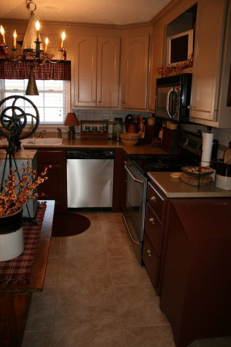 pinterest primitive kitchens | Primitive/Country Kitchen | Abode ...