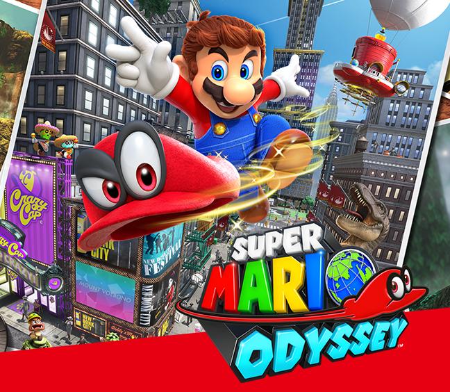 Super Mario Odyssey Super Mario Mario Nintendo Eshop