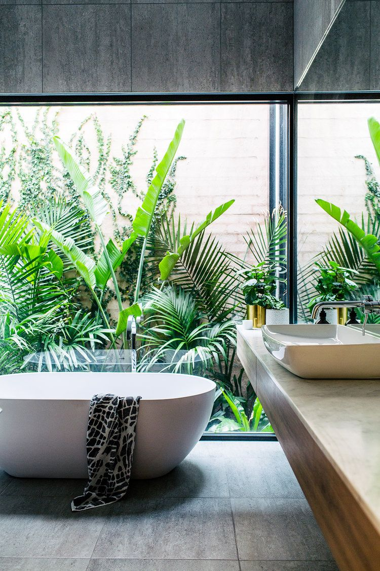 Soak Badkamer Inner City Oasis Tropische Badkamer Tropical Bathroom
