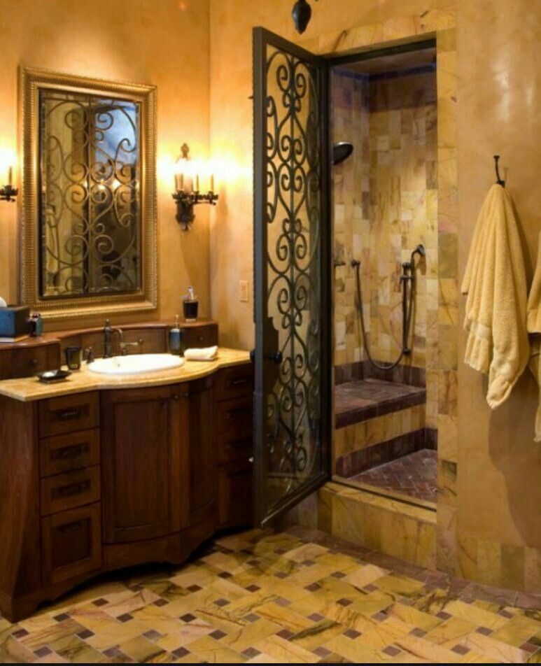I Like The Door And The Lights Also A Bench Is Nice In Shower