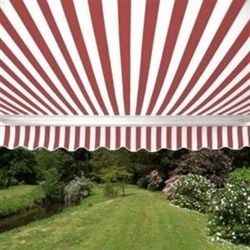 ALEKO® Retractable 13' X 10' Patio Awning 13ft x 10ft (4m x 3m) Red And White Stripes.Our Price: $500.00  http://www.alekoawning.com/product-p/awning-13ftx10ft-rw.htm