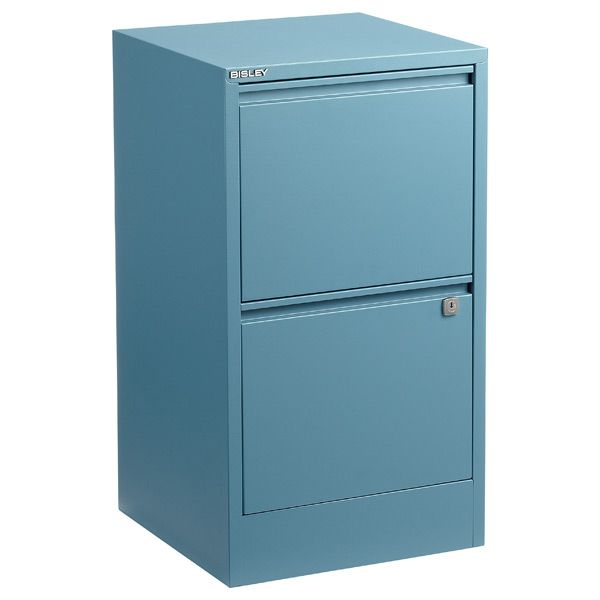 Bisley Blue 2 3 Drawer Locking Filing Cabinets With Images