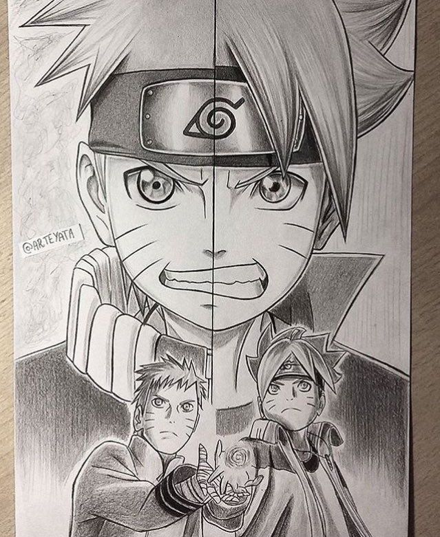 Naruto Fan Art Arteyata On Instagram Naruto Anime Naruto