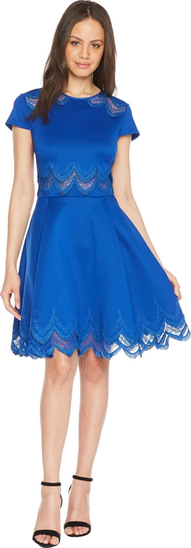 6857ff3403d2ba Ted Baker Womens Rehanna Dress Mid Blue 2 -- See this great  product-affiliate link.  dresses