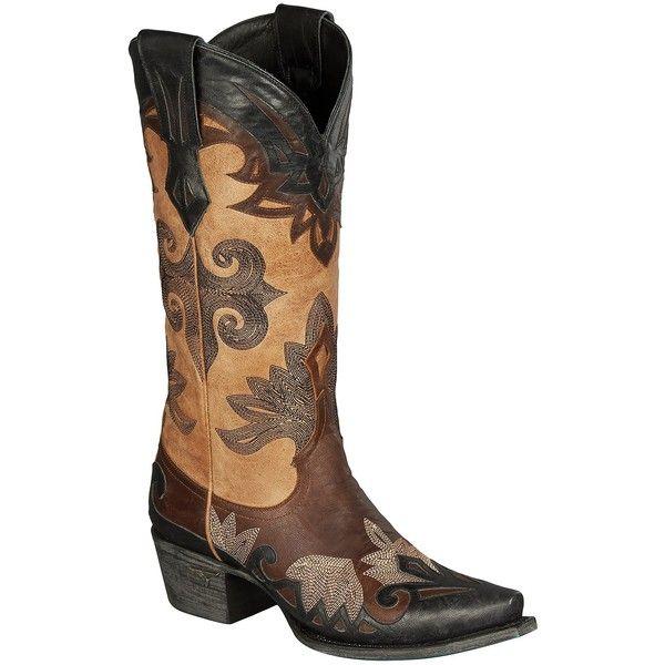 R soles Cowboy Boots
