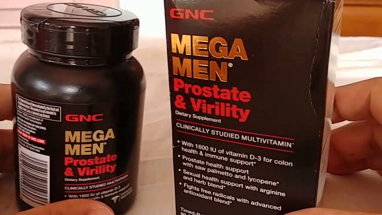 mega men prostata gnc