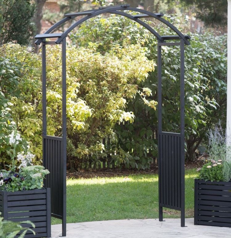 Garden Arches And Arbors Metal Arch Lawn And Decor Wedding Outdoor