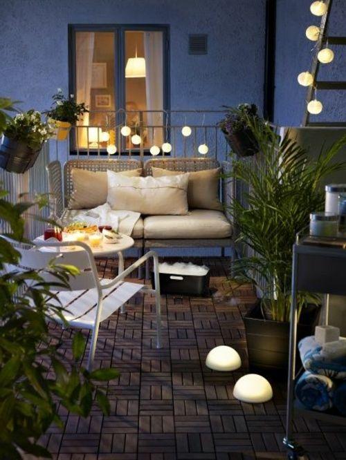 Balkongestaltung planen - 30 richtig verblüffende Einrichtungsideen - markisen fur balkon design ideen