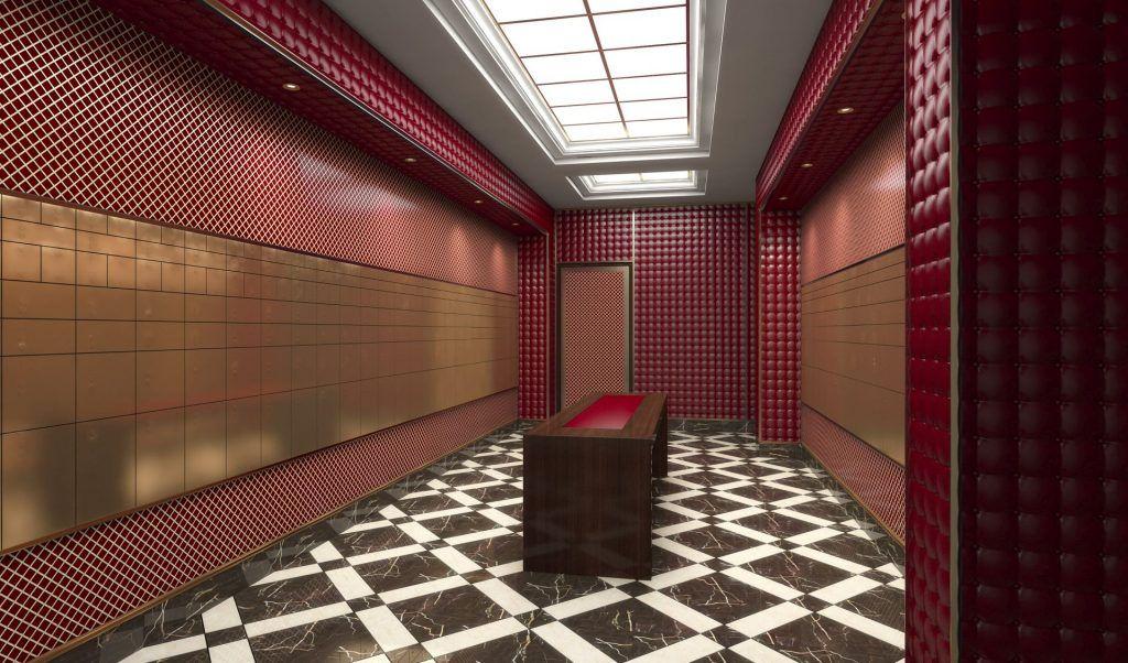 Image result for A safe-deposit box bank room