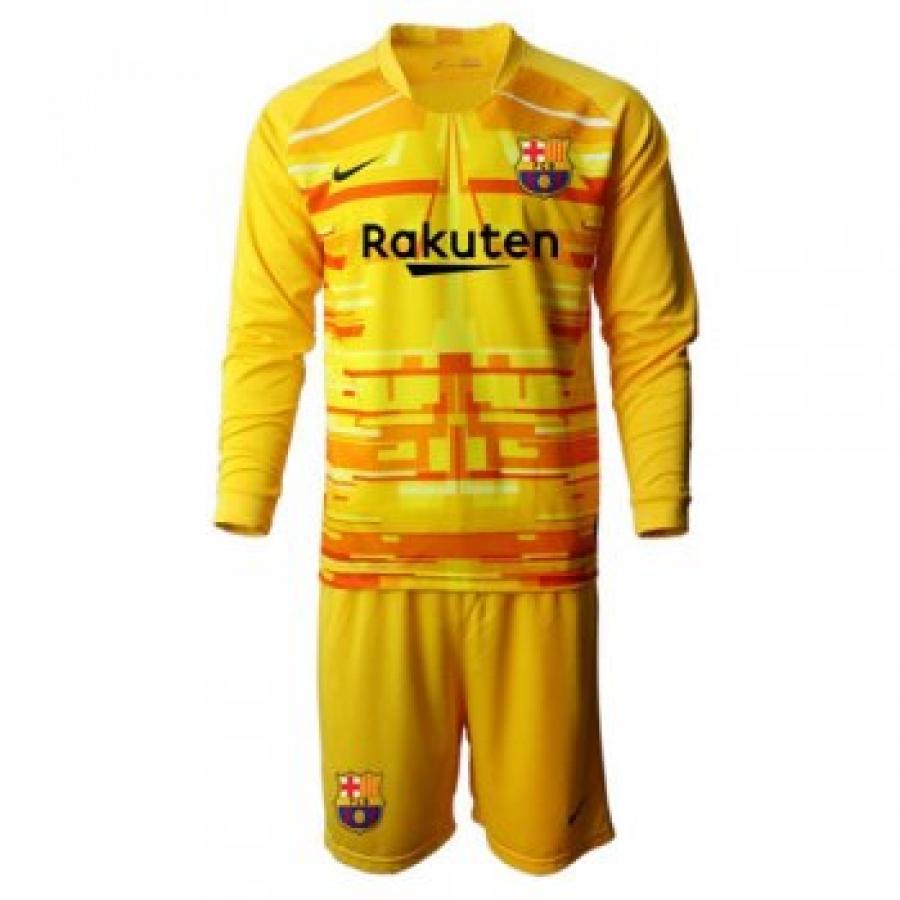 Camiseta Barcelona 19 20 Portera Manga Larga Niños Kit Id2019160 23 28 Comprar Camisetas De Futbol B Long Sleeve Tshirt Men Mens Tops Mens Long Sleeve