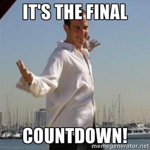 45b228411570c34b37550e2f60d8b31c it's the final countdown! gob bluth memes pinterest memes,Count Down Meme
