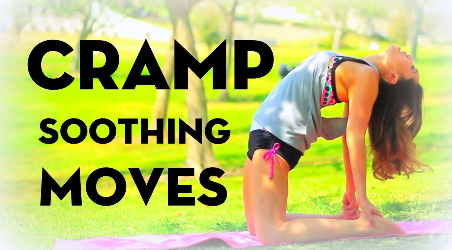 How to ease cramps on your period tips plus yoga moves