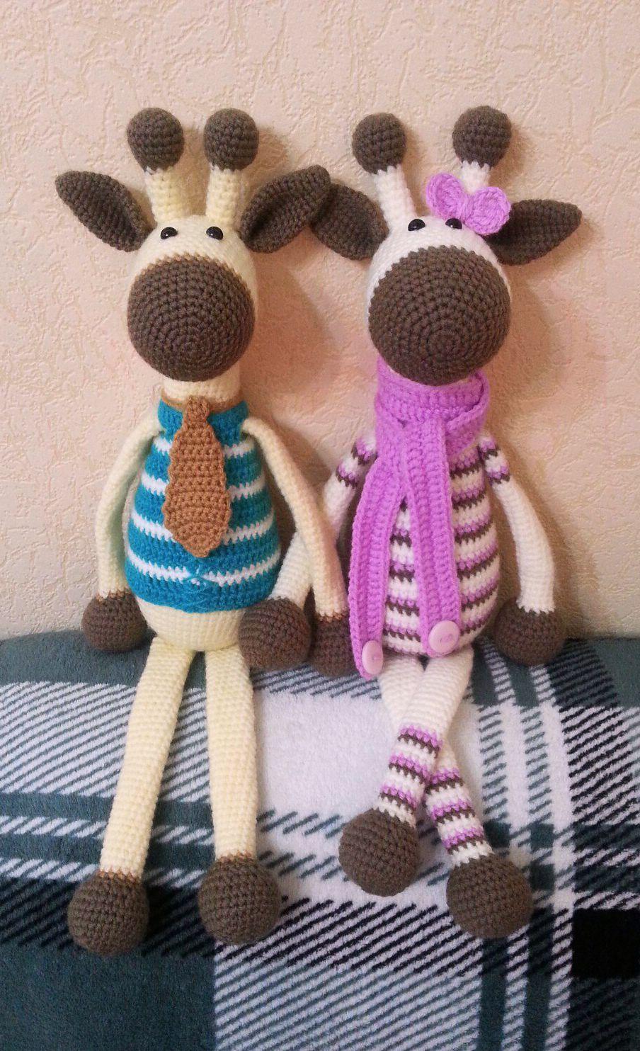 Hearty Giraffe amigurumi pattern | Pinterest | Häkeln, Stricken und ...