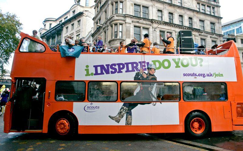 education mobile education units london bus promotions