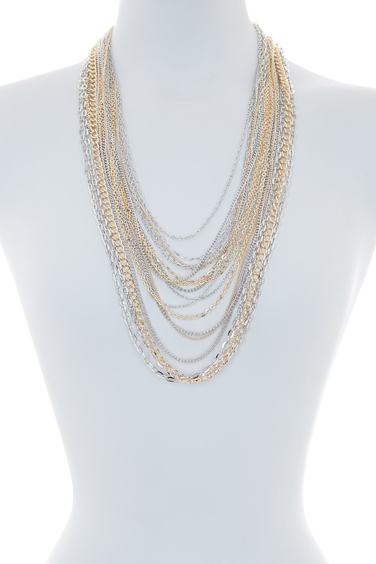 Multi style chain necklace by natasha accessories on nordstromrack