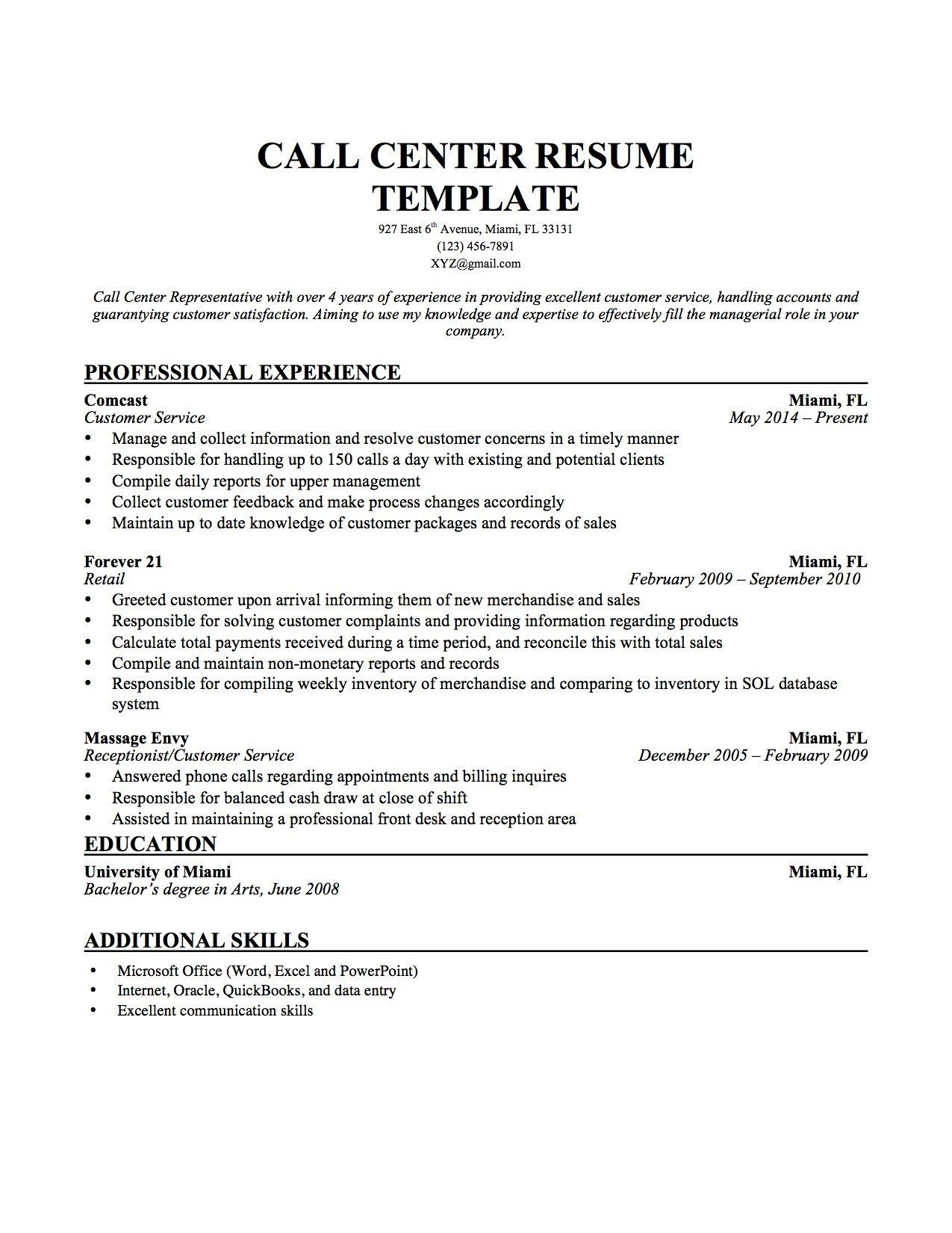 Call Center Resume Template Definition Application Letter And Resume Cover Name Meaning