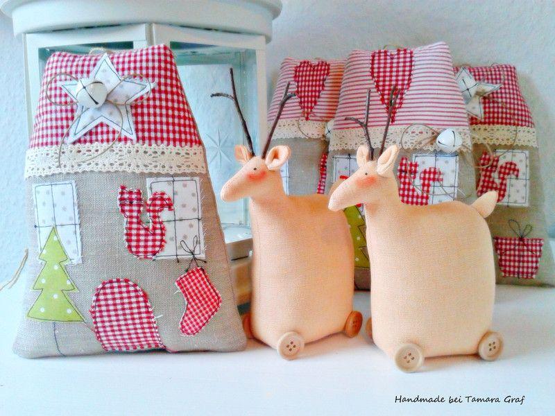 Ein Weihnachtshaus ,.Landhaus von Sweet Home bei Tamara auf DaWanda.com
