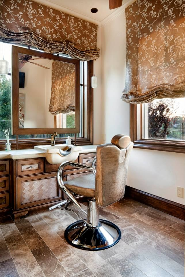 in home shampoo bowl who wouldnt want one of these - Home Salon Furniture