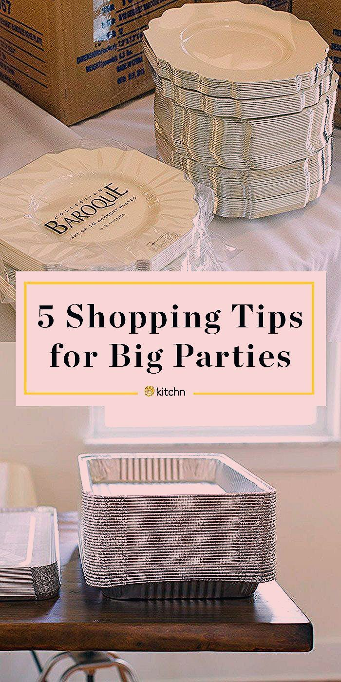 Photo of 5 Shopping Tips for DIY Wedding Receptions and Other Big Parties
