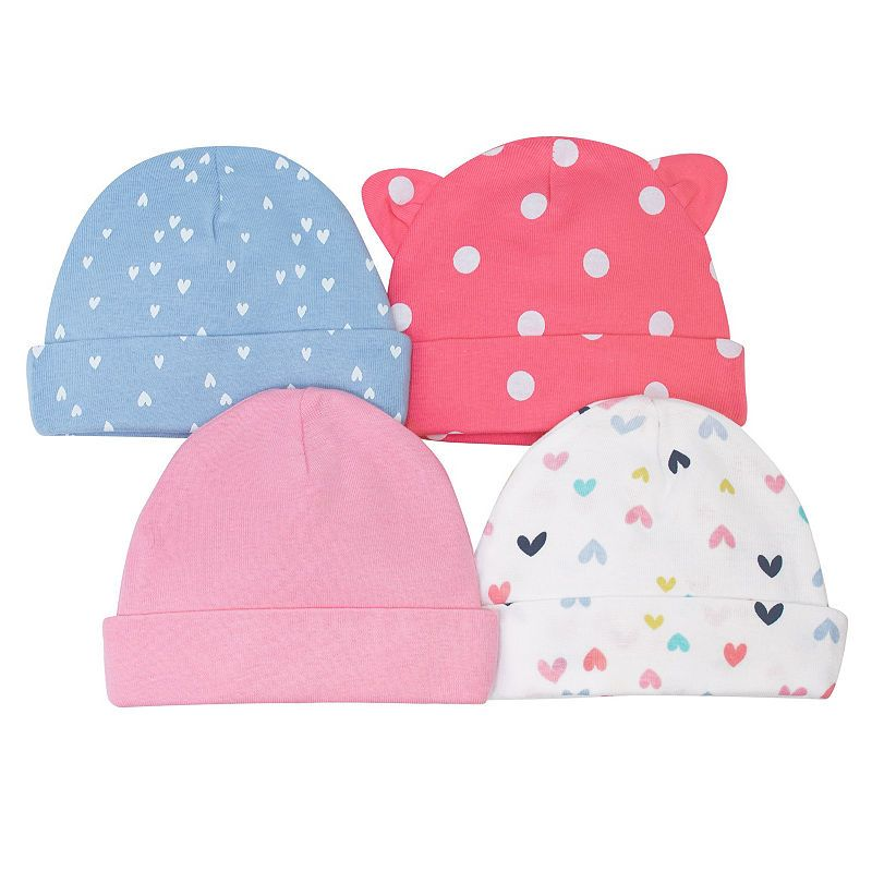 0de1f8a41 Gerber Girls 4-pc. Baby Hat-Baby in 2019 | Products | Baby hats ...