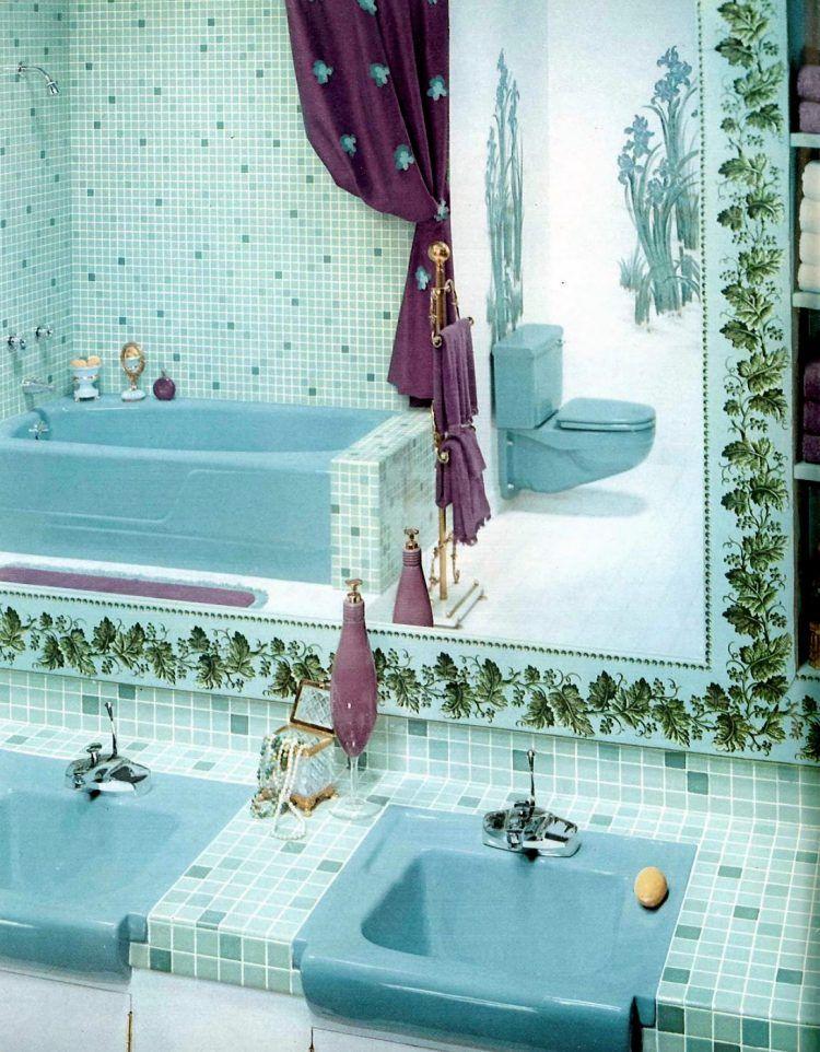 60 Vintage 60s Bathrooms Retro Home Decorating Ideas In 2020