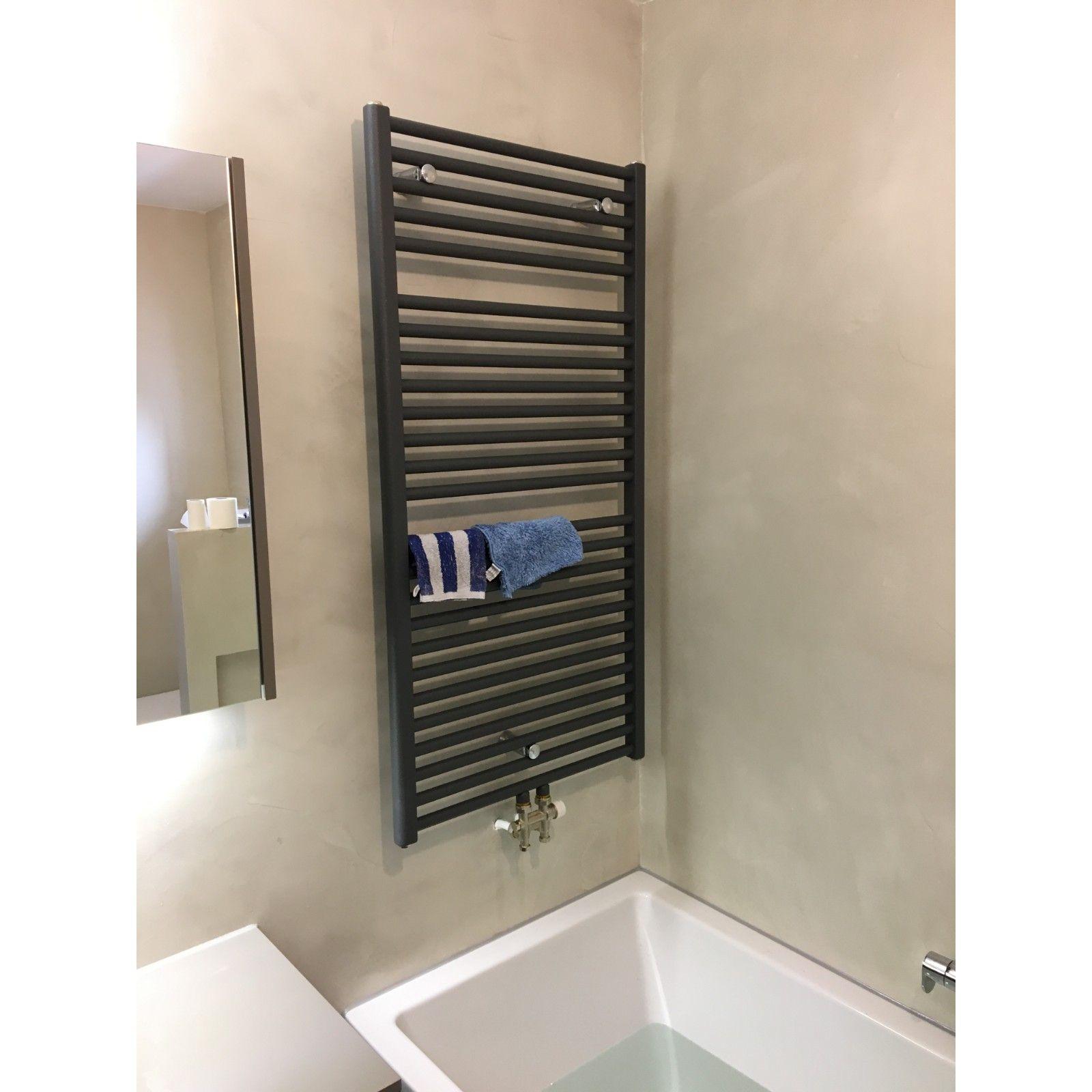 Badkamer verwerkt met beton cire Amsterdam-Noord | Tuijps | Badkamer ...
