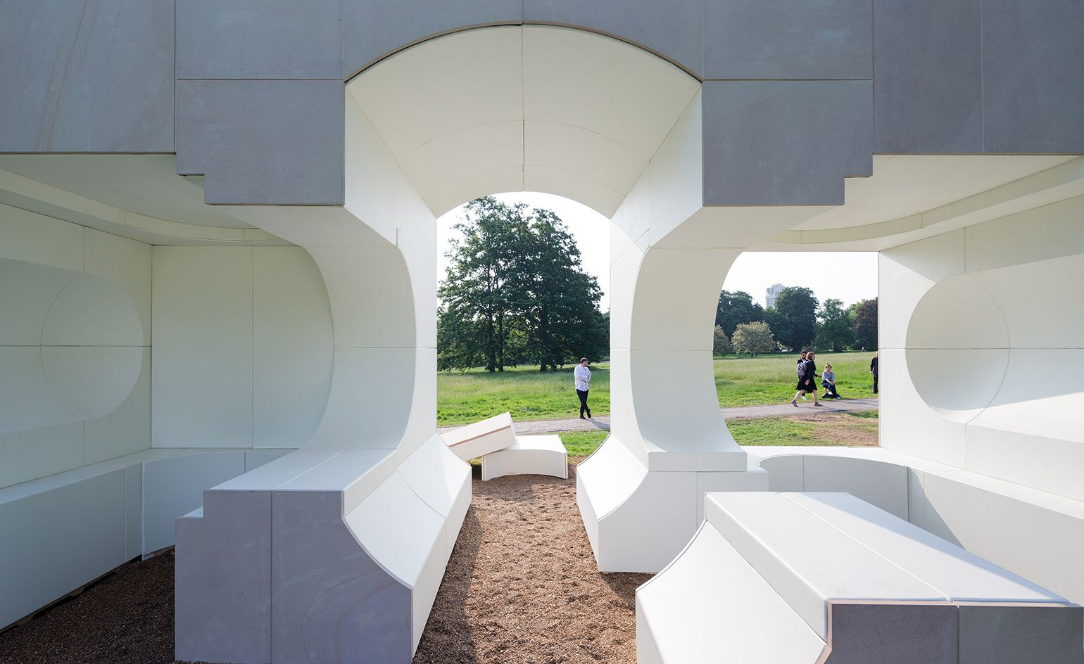 Glass Act Big S Serpentine Pavilion And Its Four Summer