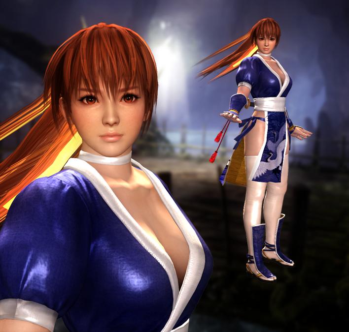 DOA5 Kasumi Ninja Gaiden (Fixed) 12-11-15 by bstylez on