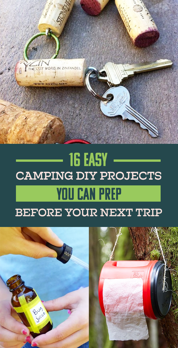 Photo of 16 DIY Hacks To Prep Before Your Next Camping Trip