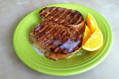 Stuffed French Toast--George Foreman recipe #1