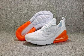 promo code cdc28 3ddd1 Advanced Nike Air Max 270 Flyknit Total Orange White AH8050 102 Women s  Men s Running Shoes Sneakers