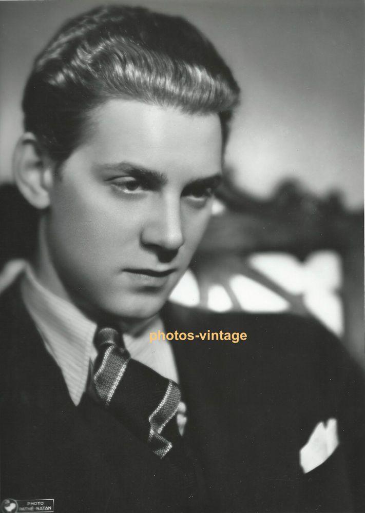 Jean-Pierre AUMONT acteur français jeune premier cinéma PATHE NATHAN argentique