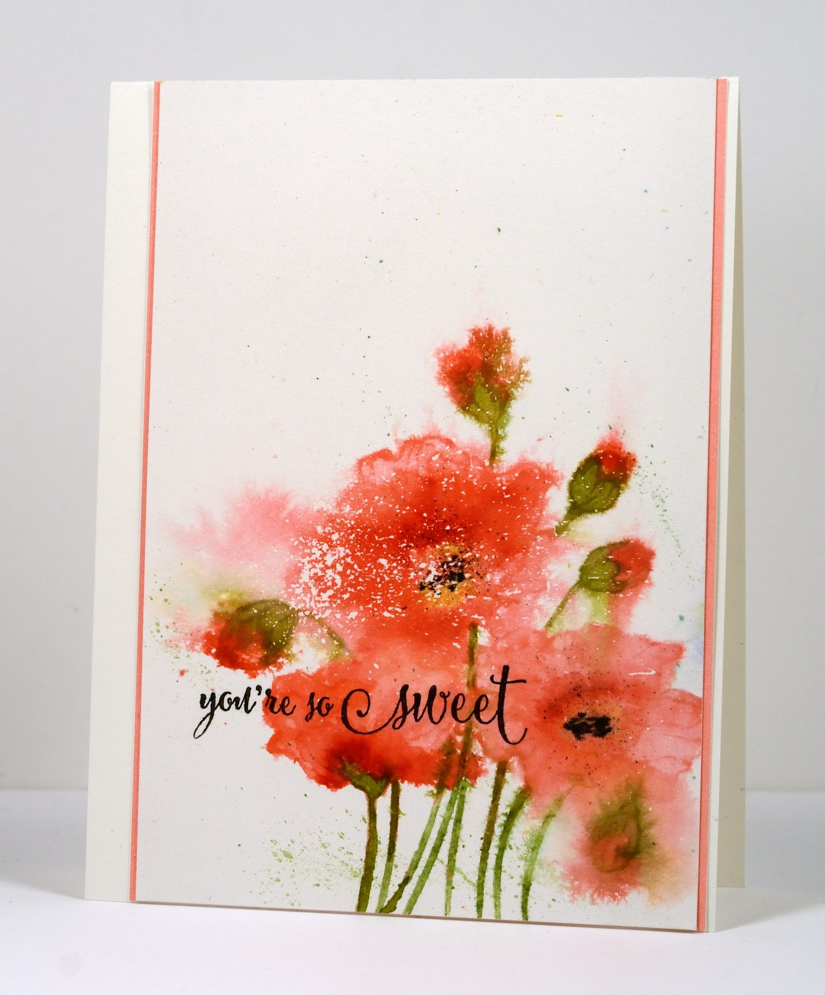 Fresh poppies cards watercolor and penny black httpsflicpqjdb4y fresh poppies flower cardsflower izmirmasajfo Images