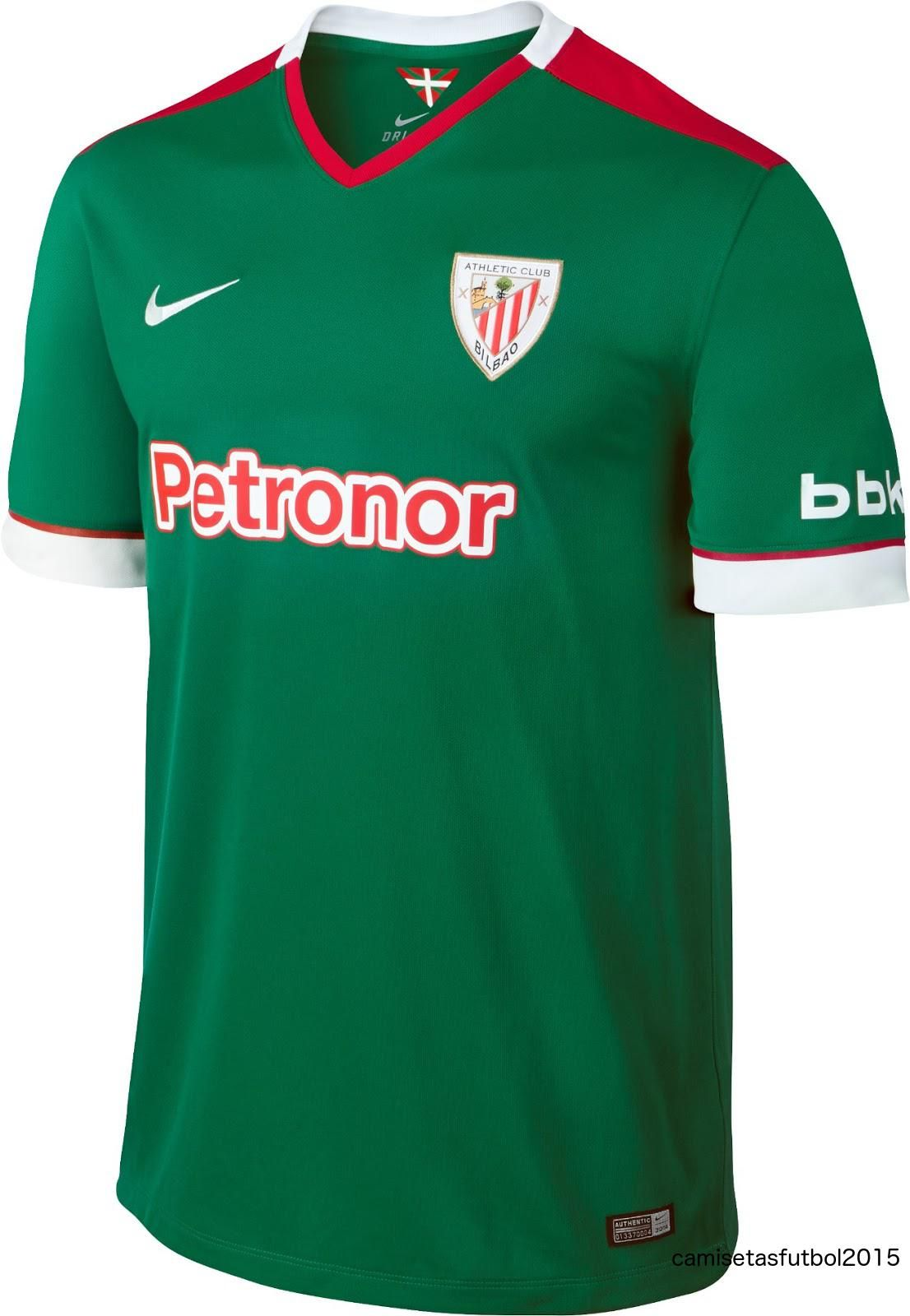 5bb1e9bba6640 The Athletic Bilbao Kids Away Jersey which is available in boys and youths  sizes. A
