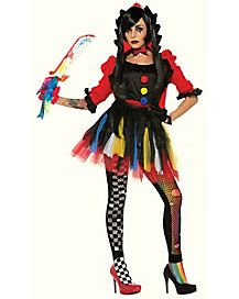 Adult Twisted Clowness Costume