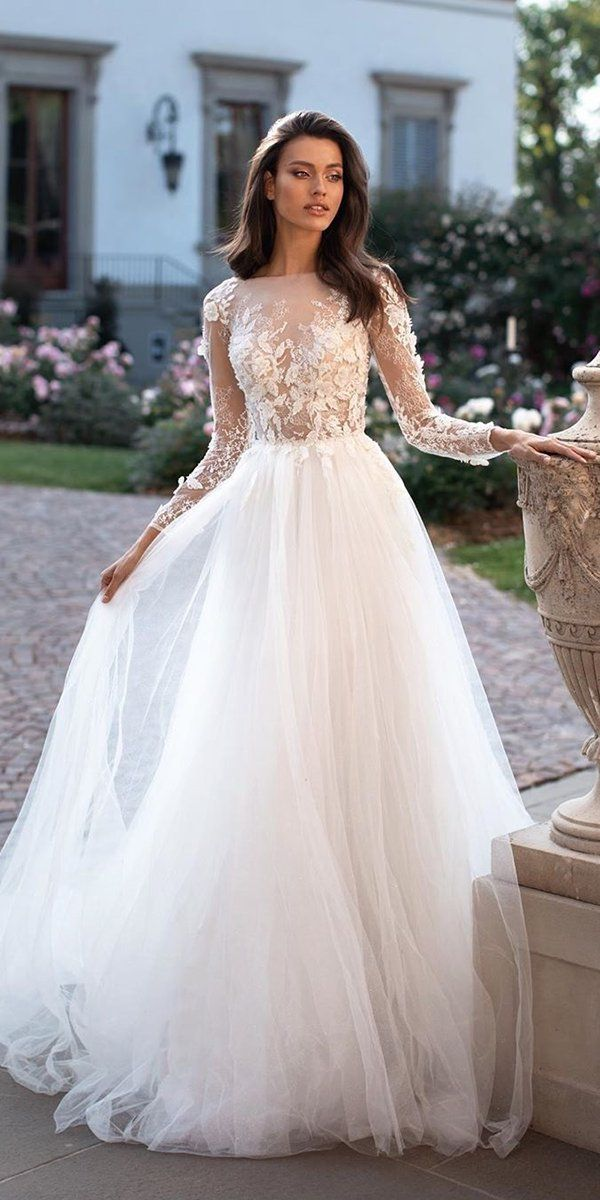 10 Wedding Dress Designers You Will Love Tulle Skirt Wedding Dress A Line Wedding Dress Wedding Dress Guide