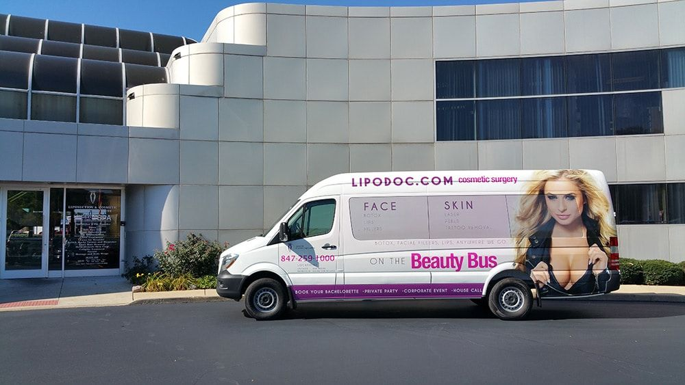 The Beauty Bus Mobile Botox Van Trailer Hitch Installation