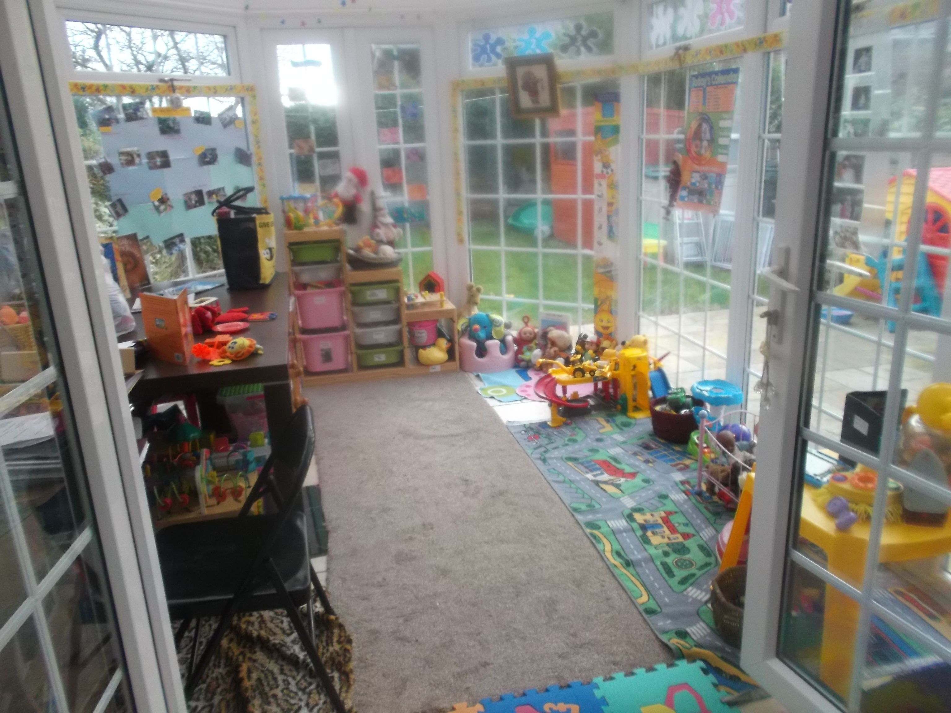 my conservatory which we use a one of the playrooms, lots ...