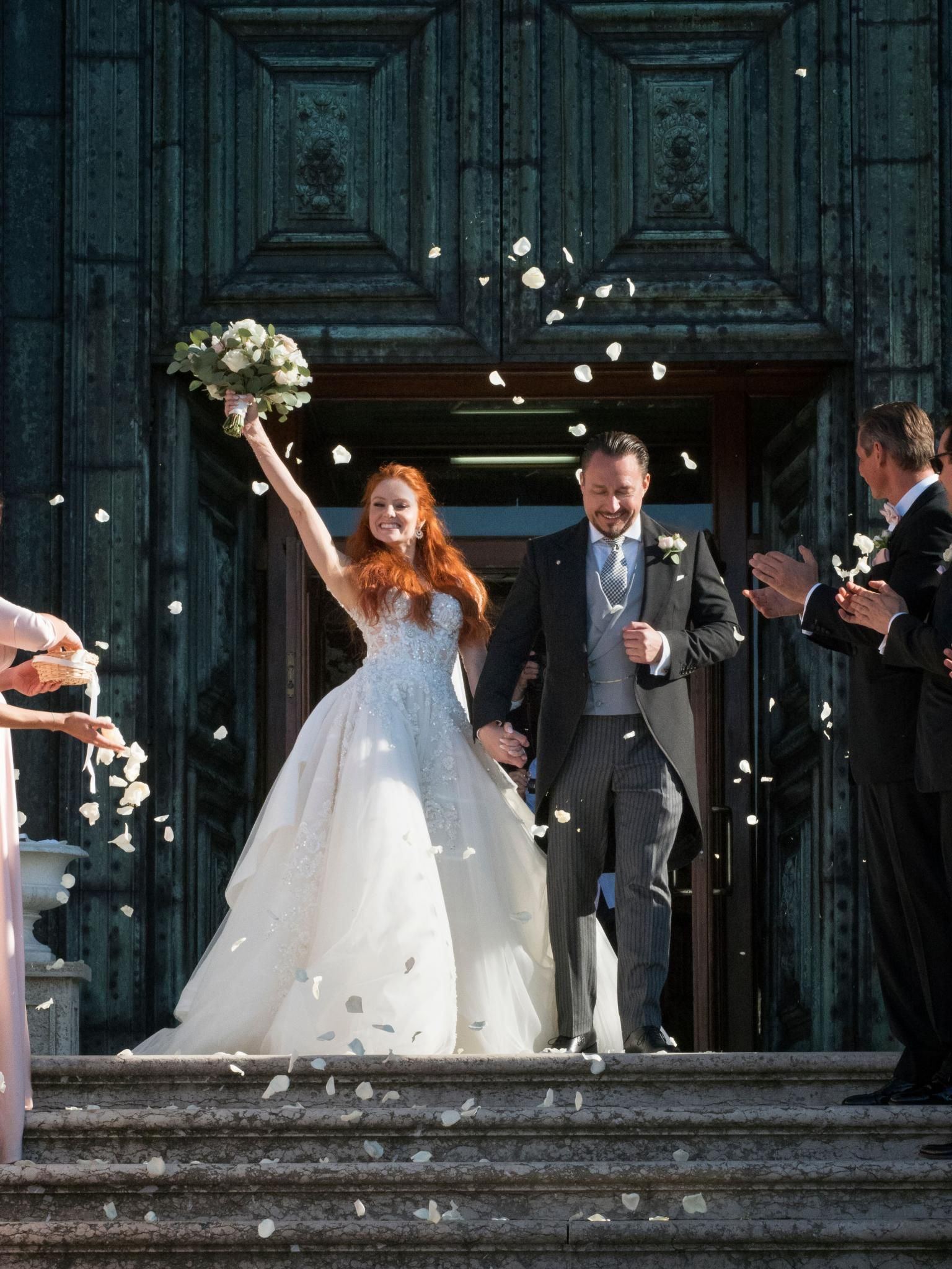 Bride Of The Week Barbara Meier Beautiful Wedding Dresses Celebrity Bride Bride