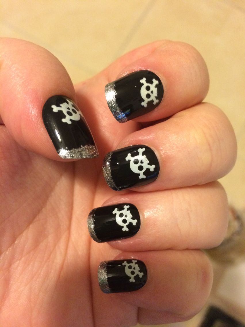My Halloween Glow in the Dark Nails