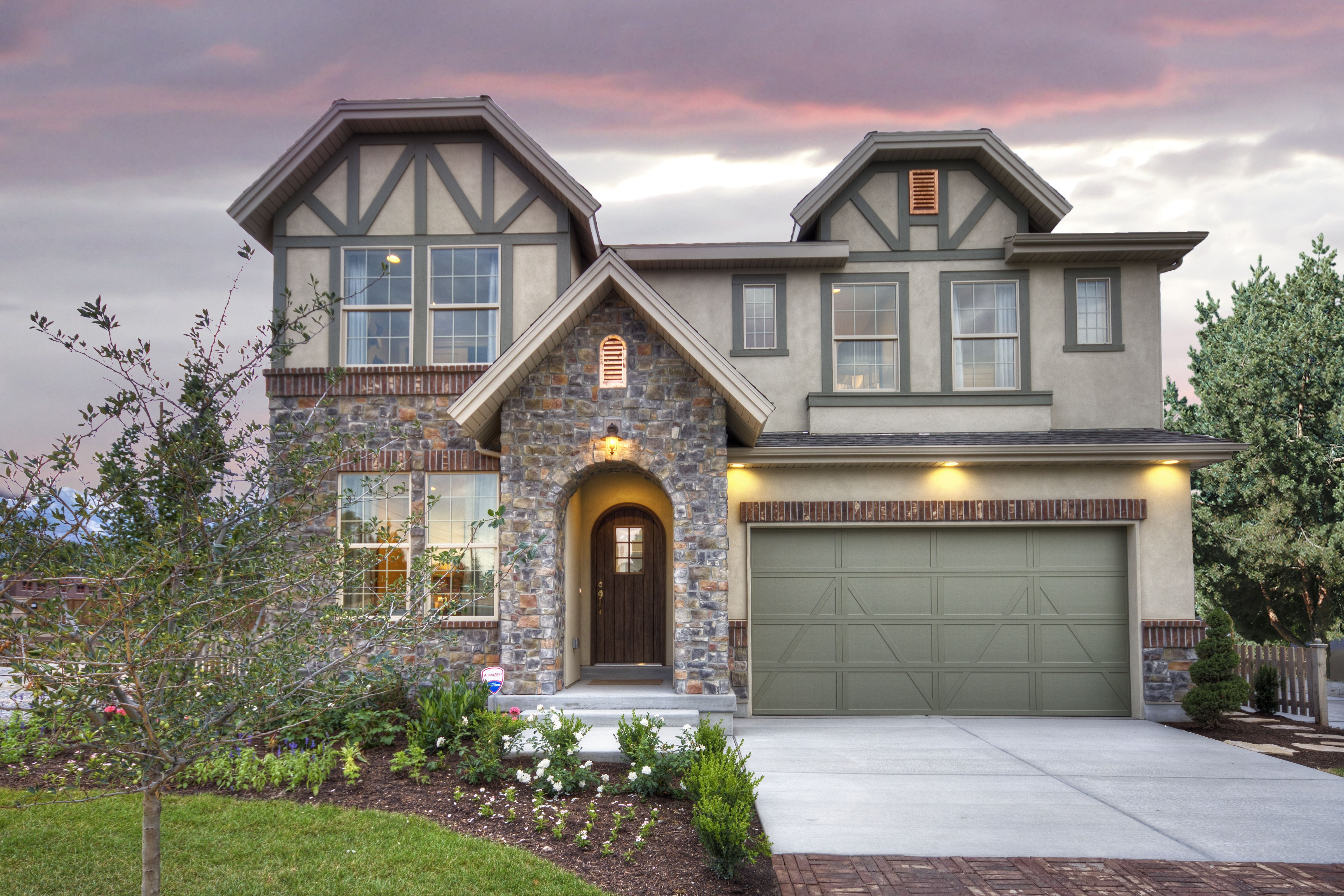 Home Design Utah Part - 43: Briarwood French Country Home Design For New Homes In Utah Love The Copper  Accents And Cottage
