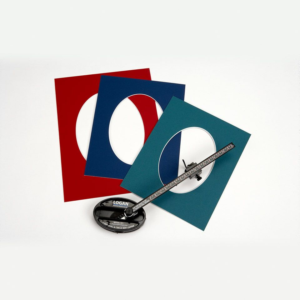Mat Cutting Tools and Supplies 37574: Logan 201 Oval Circle Picture ...