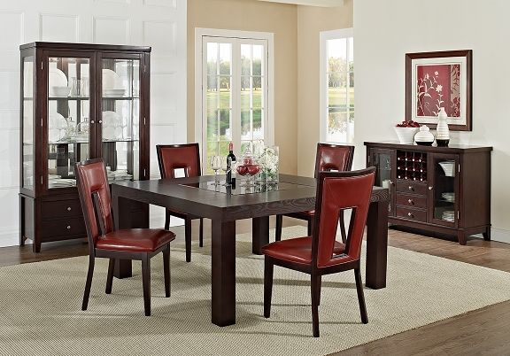 Gentil American Signature Furniture   Tango Madera II Dining Room Collection 60  #ASFwishlist