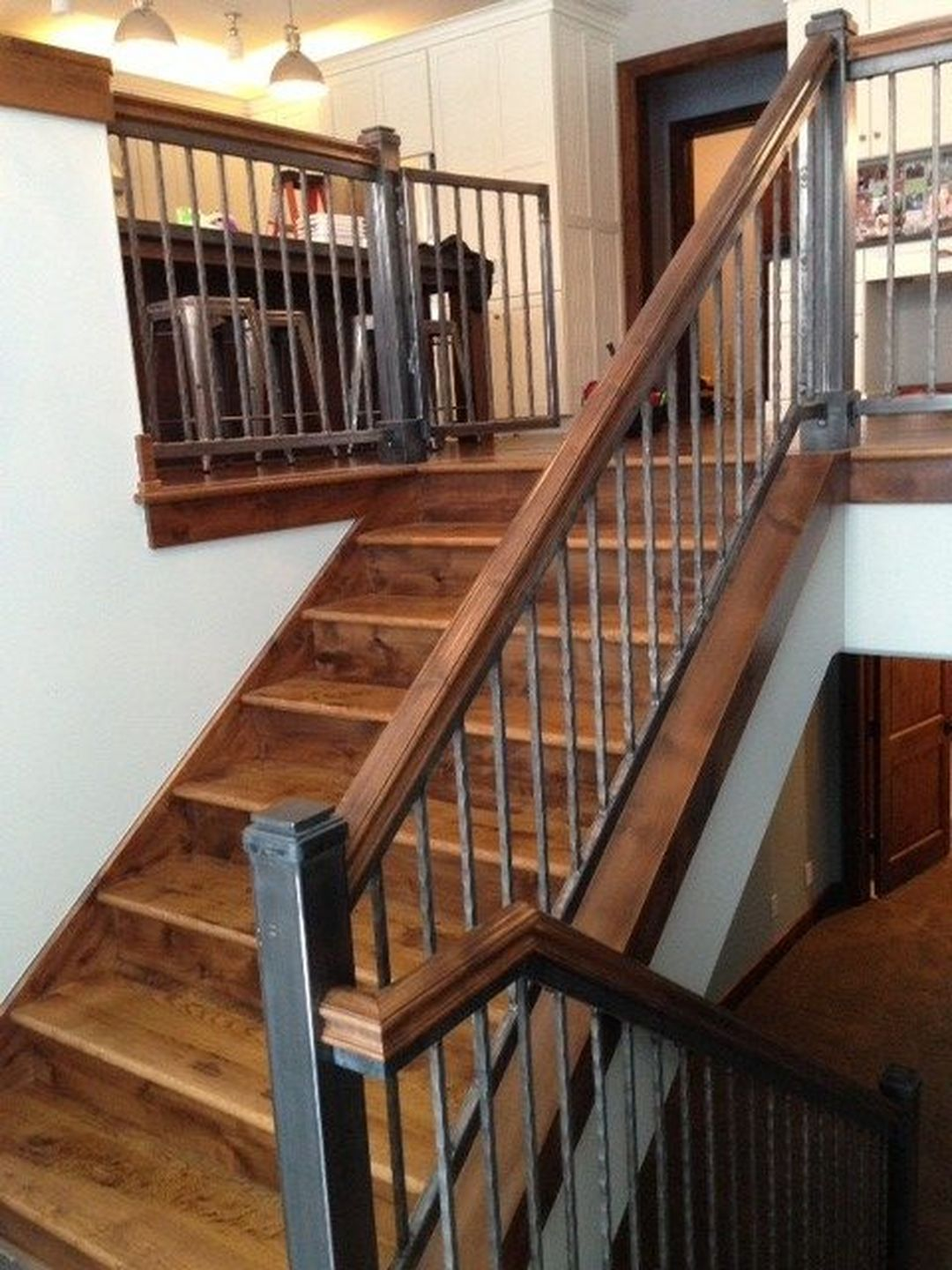 16 Marvelous Rustic Staircase Ideas You