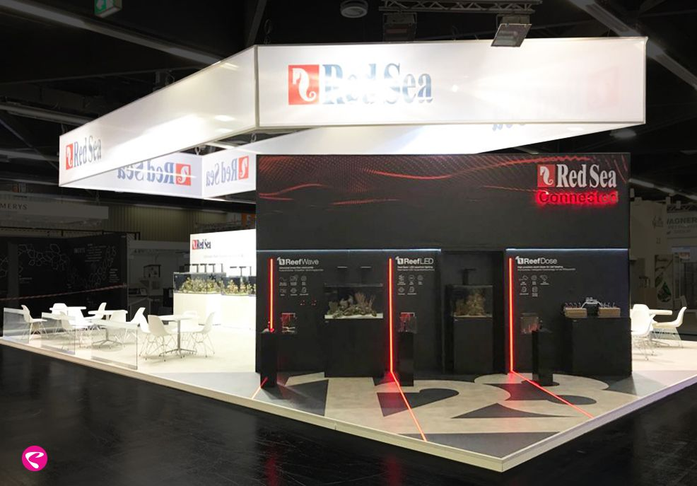 Exhibition Stand Design And Build Germany : Redsea interzoo germany exhibition tradefair