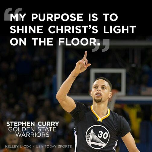 Christian Athlete Quotes: Stephen Curry Quotes