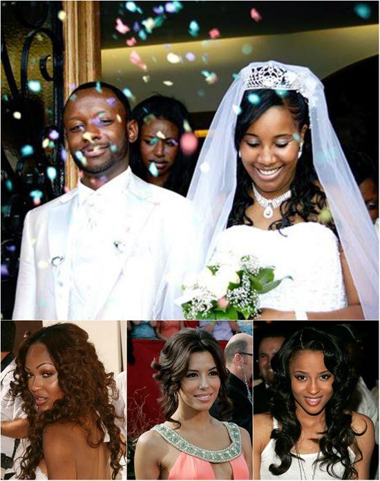 6 Fabulous Black Women Wedding Hairstyles In Fall 2013