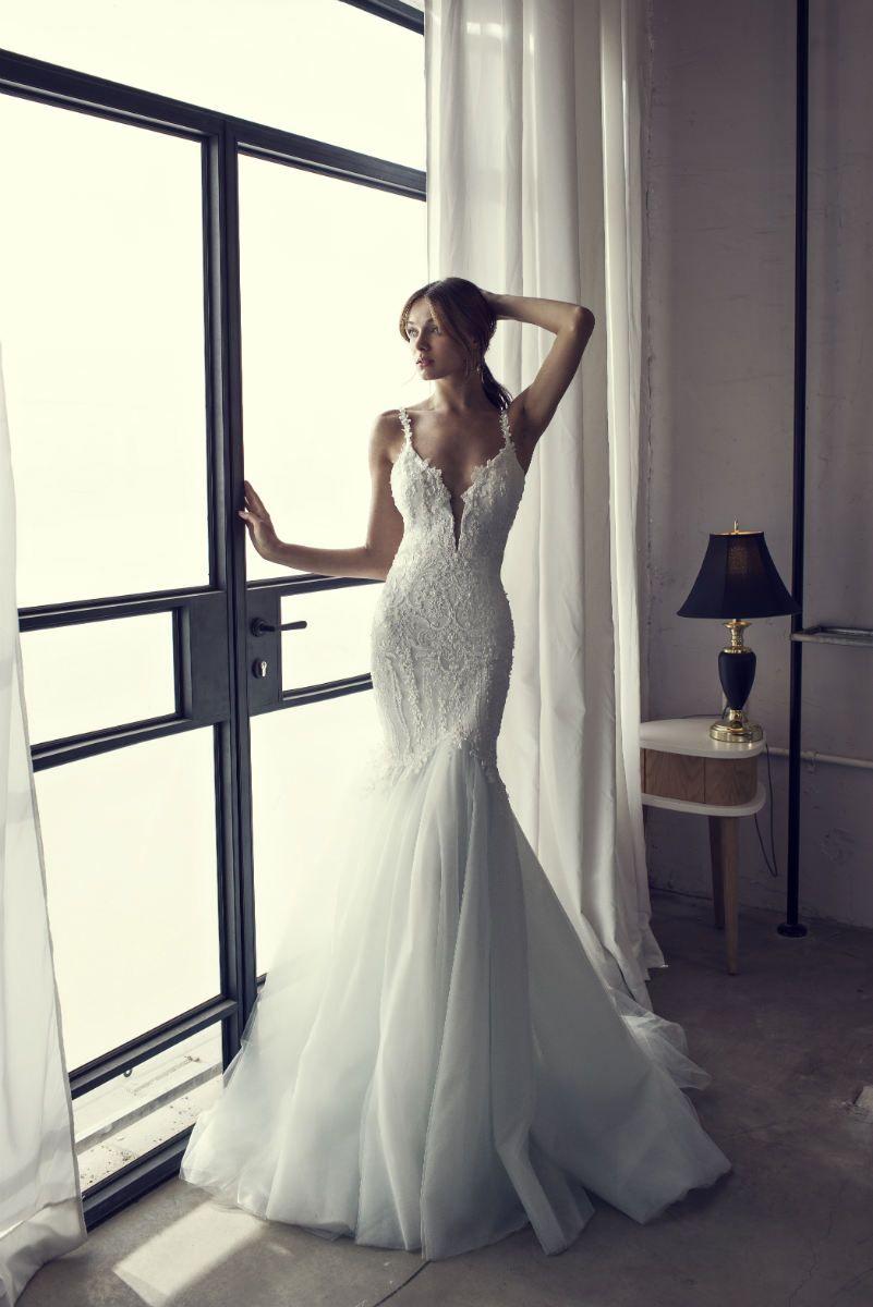 Mermaid Wedding Dress | Riki Dalal 2017 NOYA Bridal Collection ...