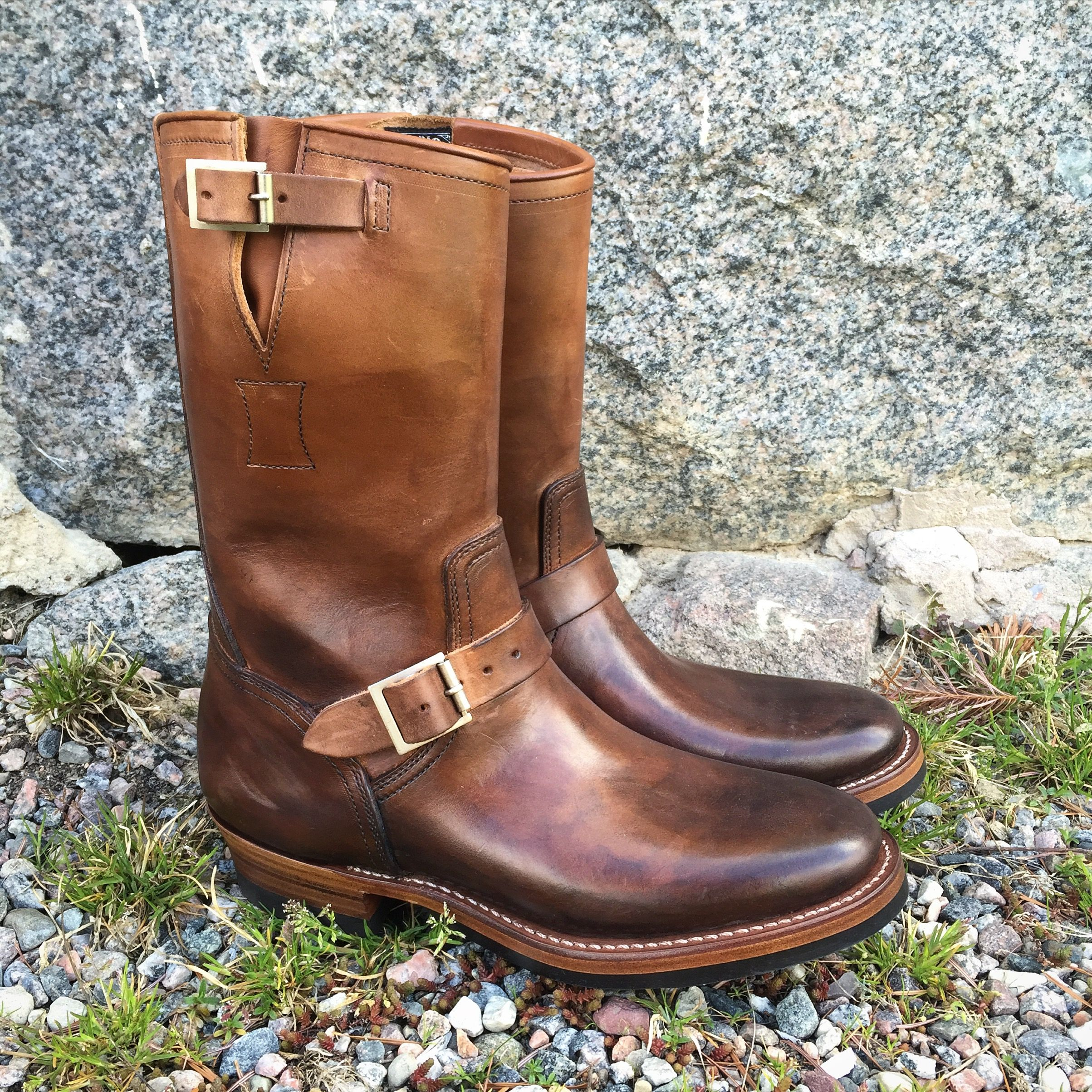 6de2f4a9162 Clinch Engineer Boots, CN Last. (made in japan, brass tokyo ...