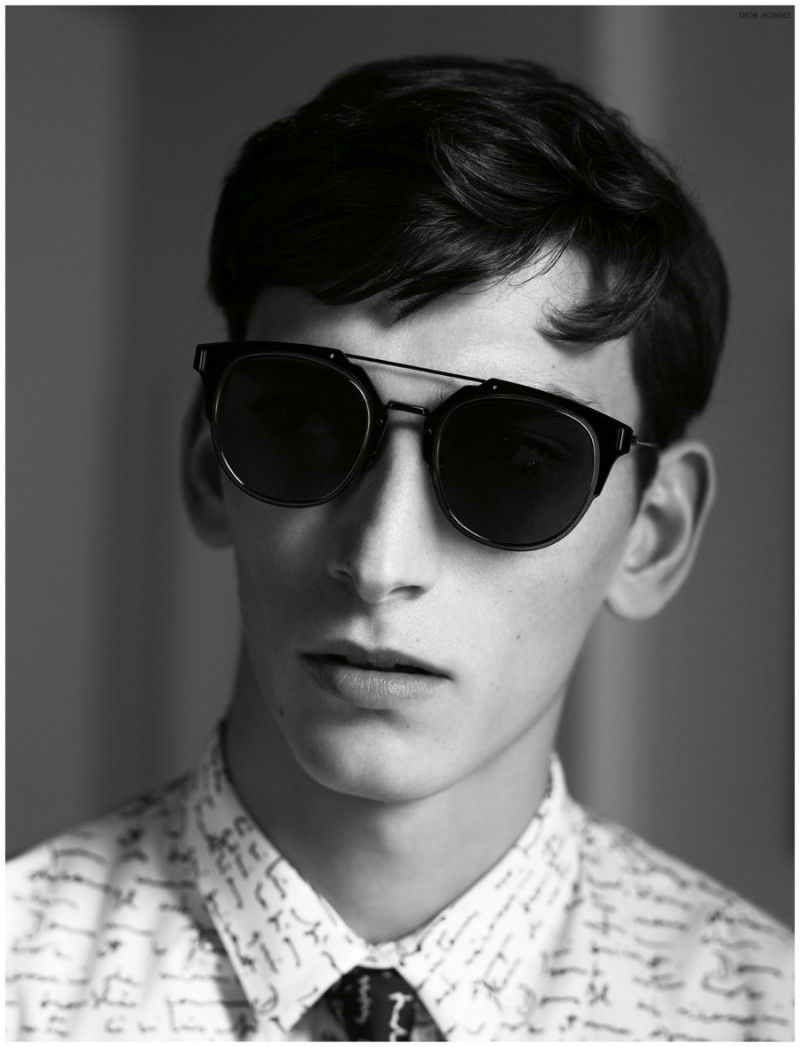 f654e48c3b9f Thibaud Charon for Dior Homme Goes Modern with Dior Composit 1.0 Sunglasses